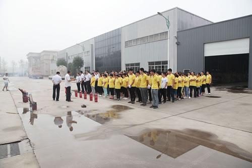 洁仕宝组织开展消防安全演练活动